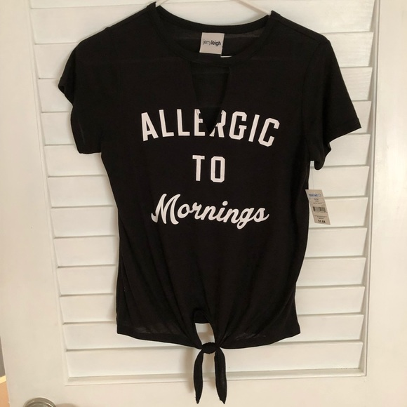 Tops - 💋 BUY 1 GET 1 FREE Allergic to Mornings top
